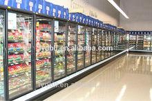 glass door vertical display cooler,glass door refrigerator,glass door upright freezer