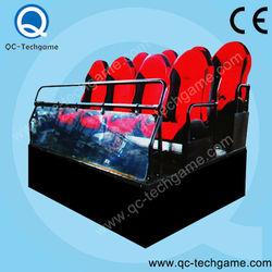 Entertainment equipment Electric/Hydraulic 2/3/4/6/8/9/12seats 5d kino