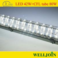 hot!!!2014 New design Led Light 2ft ip63/65 Led Tri-proof Light for Lamp