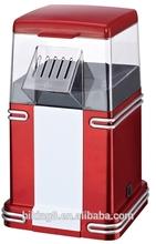 Fashion hot air popcorn maker/popcorn machine without oil
