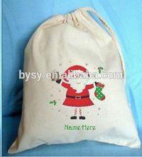 Christmas good for health designer lady handbag cotton bag
