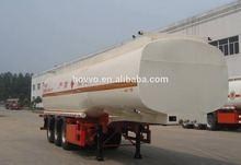 Liquid asphalt tank semi trailer with heat preservation system for sale (volume optional)