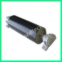 low vibrationsteel conveyor drum for cement industry/steel conveyor drum pulley