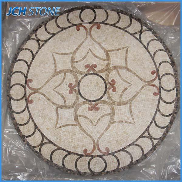 Nuevo estilo de moda de piedra de m rmol mosaico jard n for Baldosas para jardin precios