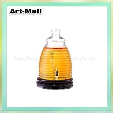 Promotional wholesale jars of glass jars for jam