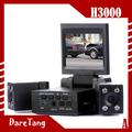 factory direct double double lentille caméra voiture dvr h3000 voiture caméra vidéo