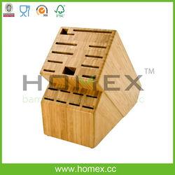 Marketable household tools kitchen knife block/knife holder/HOMEX-FSC,BSCI