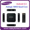 Amlogic S802 Quad Core google android 4.4 android smart TV Box MX III XBMC/Netflix receiver free dish