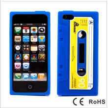 Classic Retro Cassette Tape Case for iPhone 5 5G 5S,Silicone Tape Case