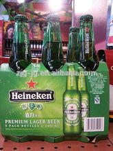 color printed corrugated 6 pack beer