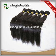 """100% raw hair silk straight 16,18""""remy hair extension virgin brazilian human hair"""