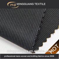 Vertical bar blue pinstripe bite suit material for mens suit MG12203