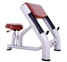 Free weights gym/B-040 Scott Bench with one-step molding technology