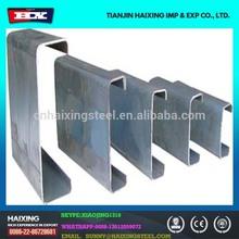 Hot rolled prime steel purlin C beam