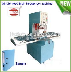 High frequency welding machine production raincoat rain gear