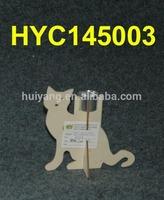 animal shape poplar plywood candle holder