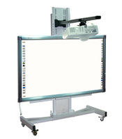 """Mobile stand of 82"""" interactive smart board,interactive whiteboard mobile stand"""