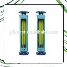 LZB metallic glass tube natural gas rotameter