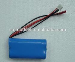LiFePO4 battery 6.4v 1800mah for solar garden light