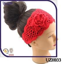 Pierced knit women's mesh headband purity lady's hair hand