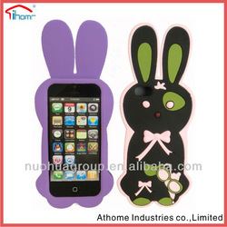 high quality with resonerble price,rabbit silicon case