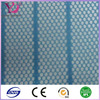 modern style mesh fabric blue white striped fabric wholesale