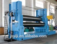 Jiangsu Yiji hydraulic 3-roller symmetrical plate rolling machine W11Y-80*2500