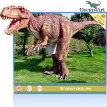 amusement park T-rex BBC dinosaur costume/suit for show
