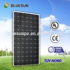 2014 year Bluesun mono 270w portable solar panel phone charger