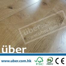 UV Lacquered oak(European White Oak timber) Engineered Waterproof Wood Flooring