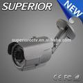 La cámara del cctv sensores de imagen 1/3 pulgadas sony ccd y ir-cut cámara cctv