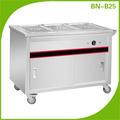 Bn-b25 ristorante elettrico cibo carrello, scaldavivande carrello