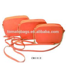 Candy color fashion ladies satchel bag
