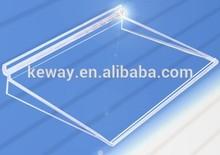 Clear Acrylic Slatwall Shelf