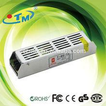 24v 3 amp 80w high quality mini led strip power supply, ac dc transformer for led light with CE&FCC