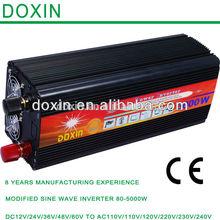 3000w dc to ac modify sine wave power inverters