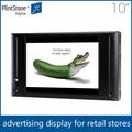 10นิ้วlcdโฆษณาดิจิตอflintstone, ป้ายดิจิตอลที่มีรูปแบบ
