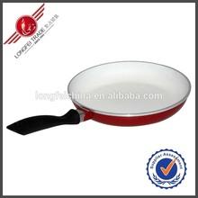 Hot Sale Colorful Aluminium Fry Pan Ceramic Coating Round Frying Pan