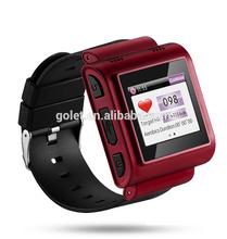 Big screen heart rate monitor sports watch Strapless heart rate monitor GPS Watch phone for old man
