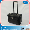 Professional design for travelling men leather trolley pilot case