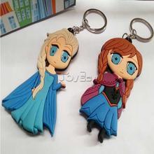 3D Cartoon Movie Frozen Keychain, Fashion Elsa/Anna Birthday gift