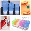 Líquido de inyección de productos de silicona / 2014 de la categoría alimenticia libre de BPA Squeezable botella del recorrido del silicón para al aire libre