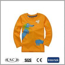 sale online high quality austrilia animal orange 2-6 years old boys t-shirt