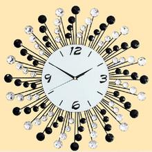 Metal fashion wall digital clock