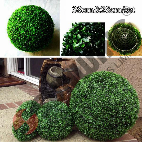 Artificielle topiaires de buis boule jardin d coration - Code promotionnel mobilier moss ...