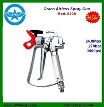 Graco Paint spray gun 288421 3600-PSI Contractor Gun with RAC 5 517 Tip Graco 288420 Airless Four Finger FTx Paint Spray Gun