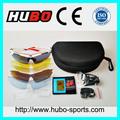 Principal proveedor de China 5 lentes intercambiables gafas marco óptico TR90 moda gafas de sol deportivas
