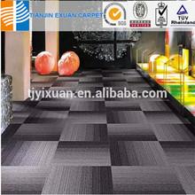 PP polypropylene bitumen/PVC backing thick carpet tile