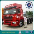 Popular 420hp 10 wheeler Shacman a estrenar del automóvil camiones EURO 3 para de carga