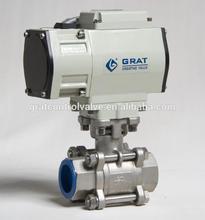Mini electric valve motorized ball valve